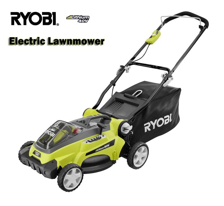 Ryobi 16 in. 40-Volt Lithium Cordless Electric Lawn Mower