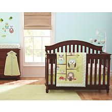 Just Born Babywise 6-Piece Crib Set