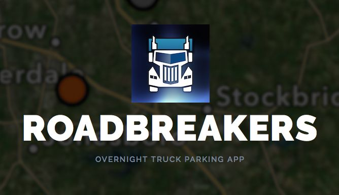 Free overnight boondocking app by truckers for RVs and semis both