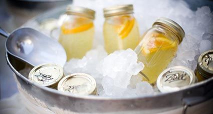 Shake, Rattle and Let's Roll! Mason Jar drinks