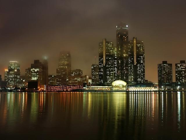 Detroit Michigan Usa Wallpaper Hd City 4k Wallpapers Images Photos And Background City Wallpaper Ocean Landscape Cityscape Wallpaper