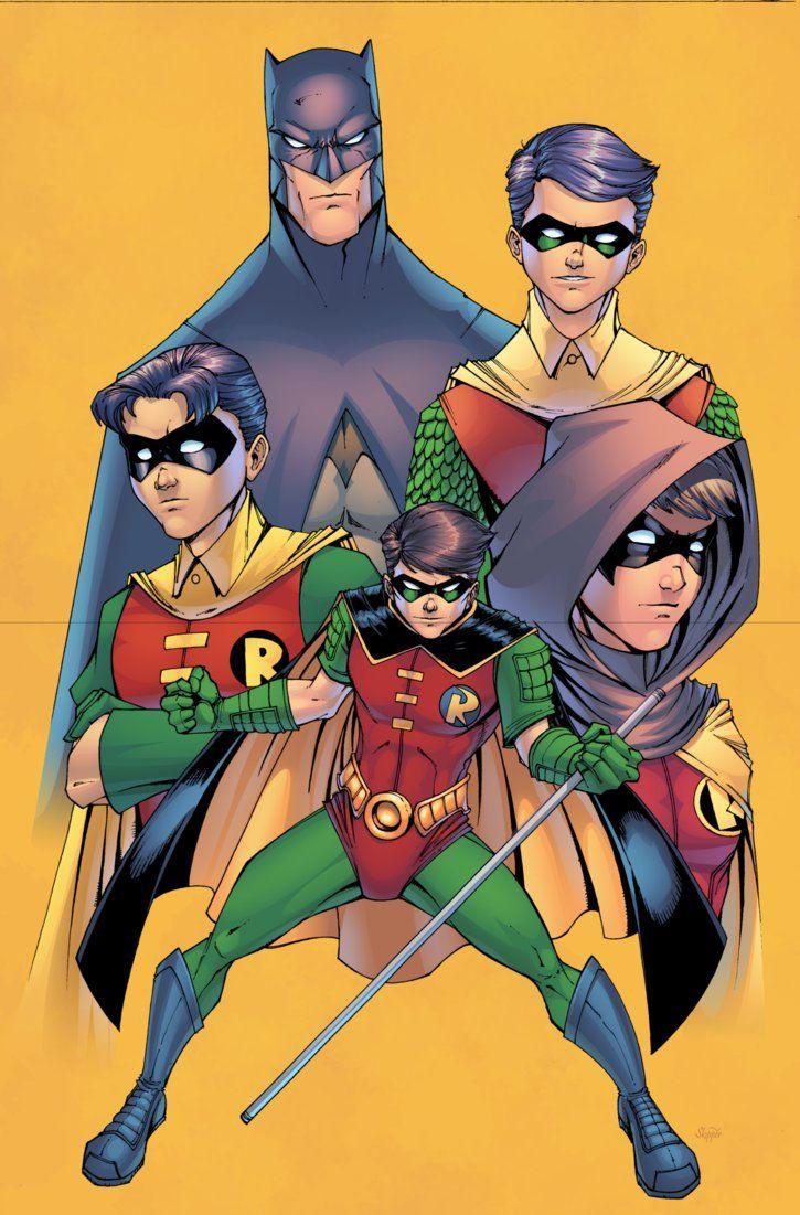 Batman and Robins by J-Skipper on DeviantArt
