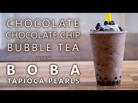 Learn how to make a Chocolate Chocolate Chip Bubble Tea drink using Bubble Tea Supply's Chocolate Flavor Powder with chocolate chips and Boba Tapioca Pearls by Neptune Ice. This is the standard recipe for our flavor powder however you can easily substitute in milk, almond milk, etc for the creamer and water. You can also change out the sweetener to match the flavor preferences of your customers or friends and family. Visit our website for the full recipe.
