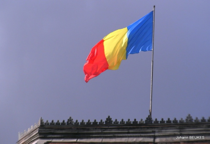 Official flag of Romania