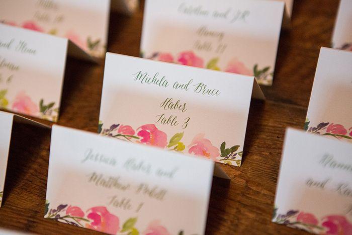 escort cards- A Guy + A Girl Photography  #rusticweddinginspiration 8mar/NY