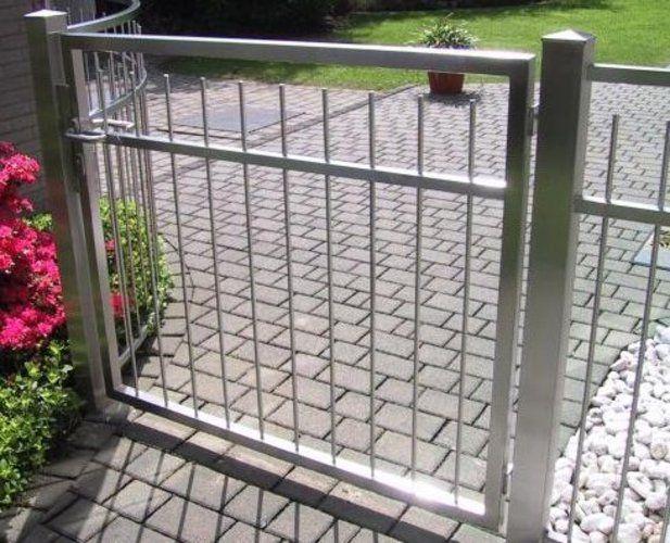Nerezové ploty a brány