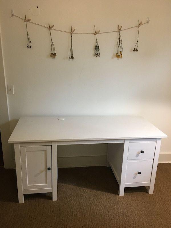 Used Ikea Hemnes White Desk For Sale In Portland Letgo Ikea Hemnes White Desks For Sale Ikea Hemnes Desk
