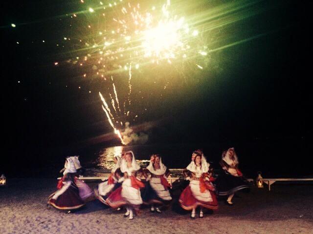 Kasiiopi folk dancing group