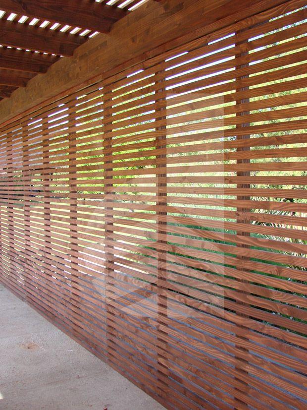comercialdominguez proyecto cortavistas de pino casa camino los pastores la dehesa