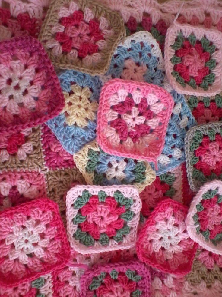 granny square http://www.ebay.co.uk/itm/Hand-Knitted-Crochet-Baby-Blanket-Pram-Colour-Your-Choice-Newborn-Gift-/261244222171?pt=UK_Baby_NurseryBedding_RL==item3cd35e7adb