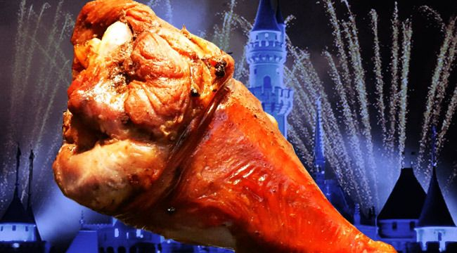 Disneyland's turkey legs are smoky, delicious meat bombs. Here's how to make them at home.