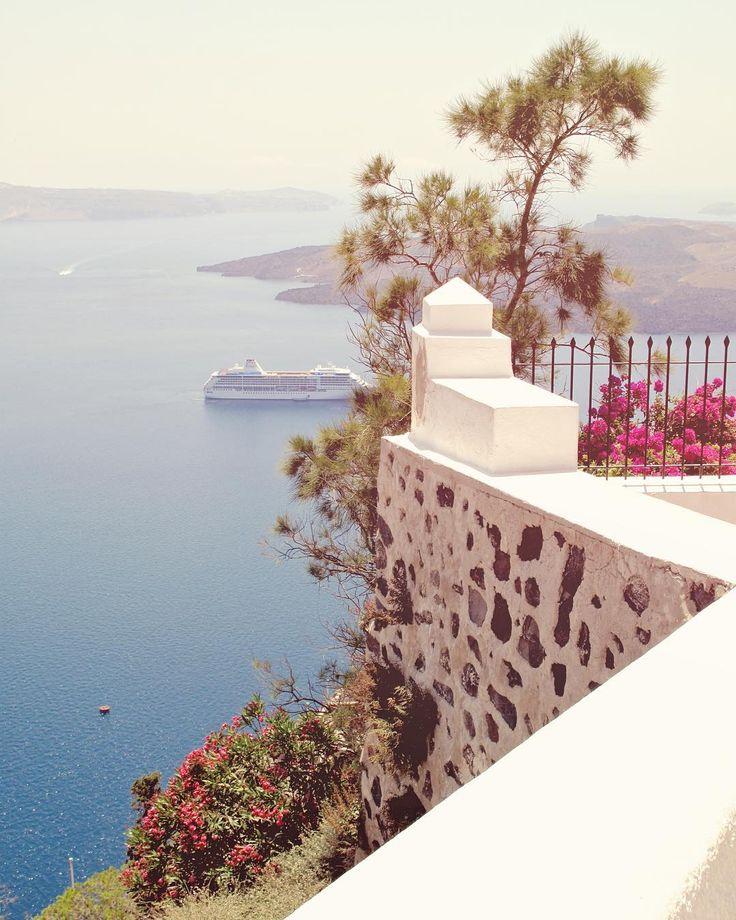 Santorini @archi.traveller on Instagram - Beautiful Santorini - Greece - Cyclades Islands - Oia