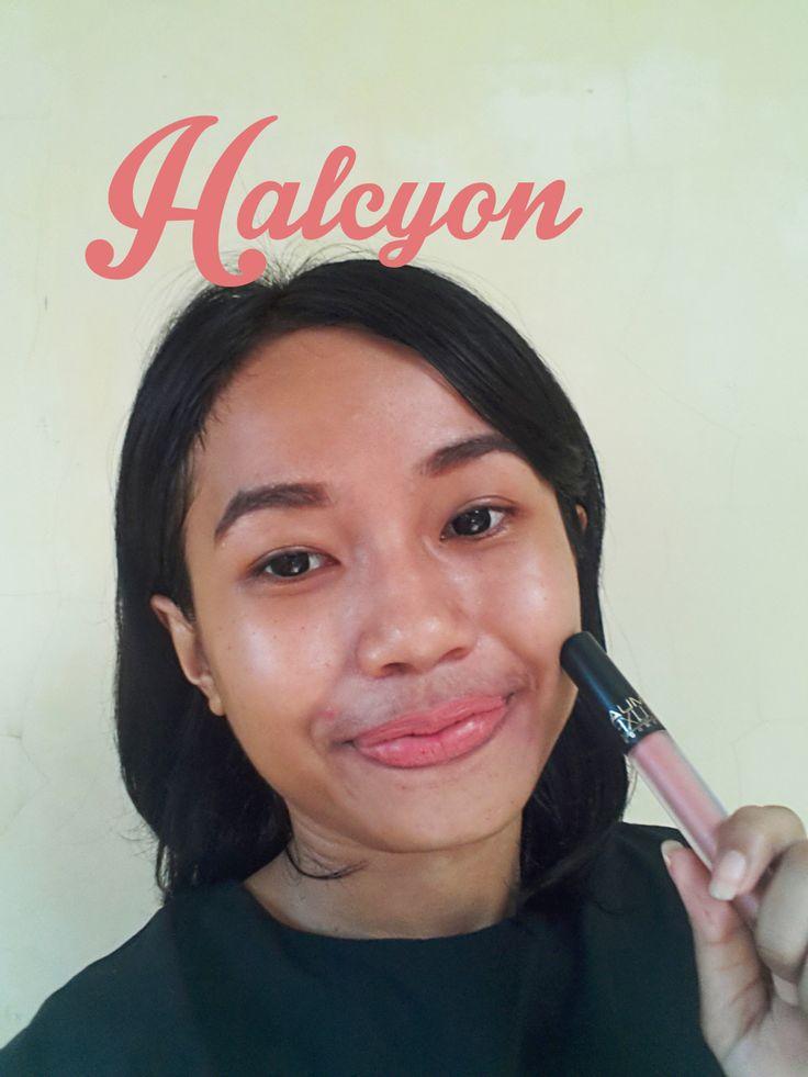 MUA Luxe Velvet Lip Lacquer - Halcyon