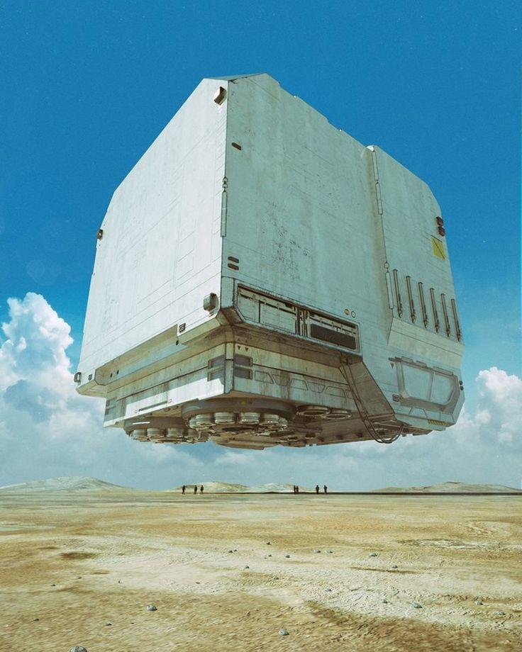 BOXXX-3W Spacecraft by Mike Winkelmann [OS] [768×960].