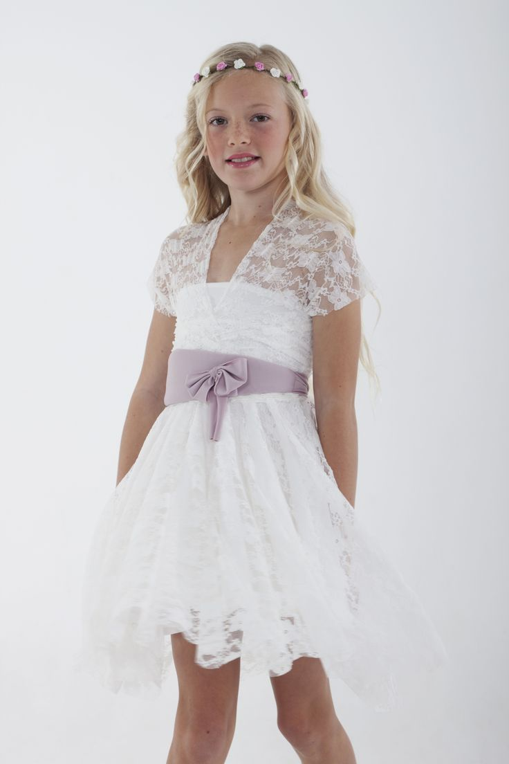 Infinity dresses the working bride - Full Lace Overlay For Flower Girl Infinity Dress Sizes 2 20