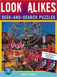 Libro para buscar miles de objetos escondidos. ¿Te atreves a encontrarlos?