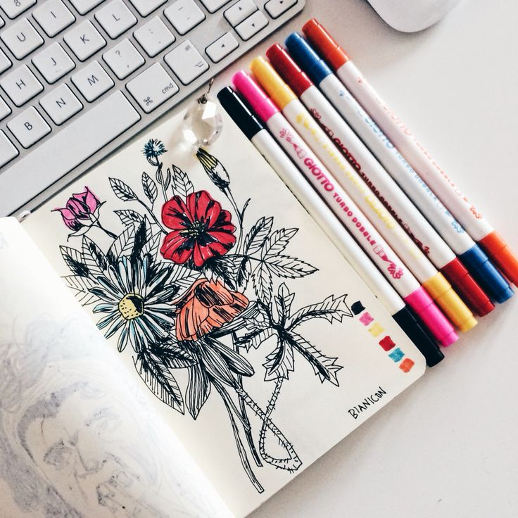 #bianicon #flower #illustration #unreal #black