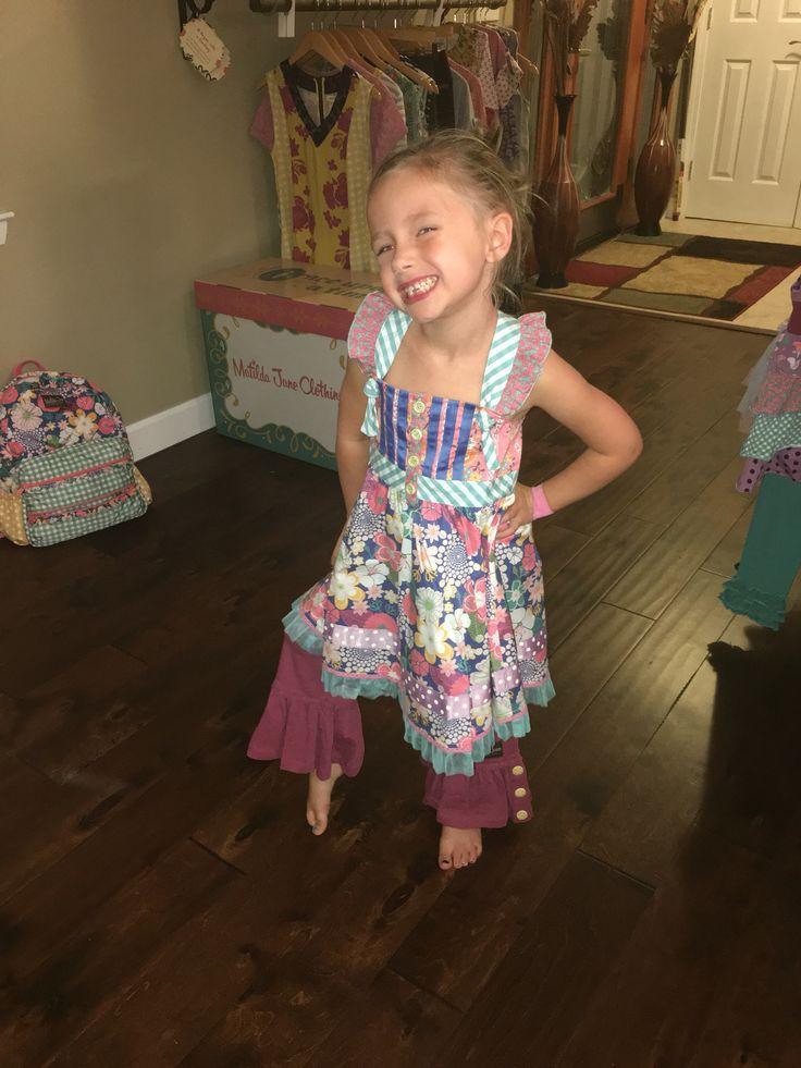 Loveliest garden dress; storyteller big ruffles