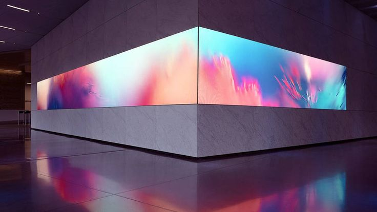 Digital Art Installation for Dolby Laboratories  Collide is a commissioned digital artwork for Dolby Laboratories in San Francisco. With surreal visuals and an engaging soundscape the installation creates an immersive synaesthetic experience. The abstract space captures the essence of motion colour and sound to visualize the experience of letting go and losing oneself in the creative process. Concept & design by Onformative.       #xemtvhay