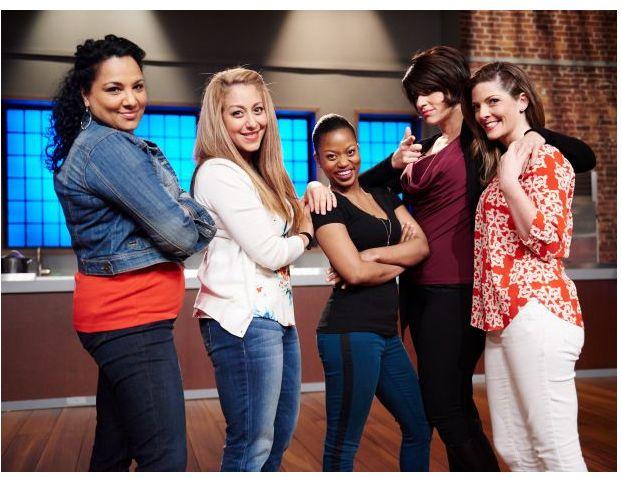 Sita Lews. Michelle Karam. Rue Rusike. Rosa Graziano. Emilia Circker of Season 11 Food Network Star