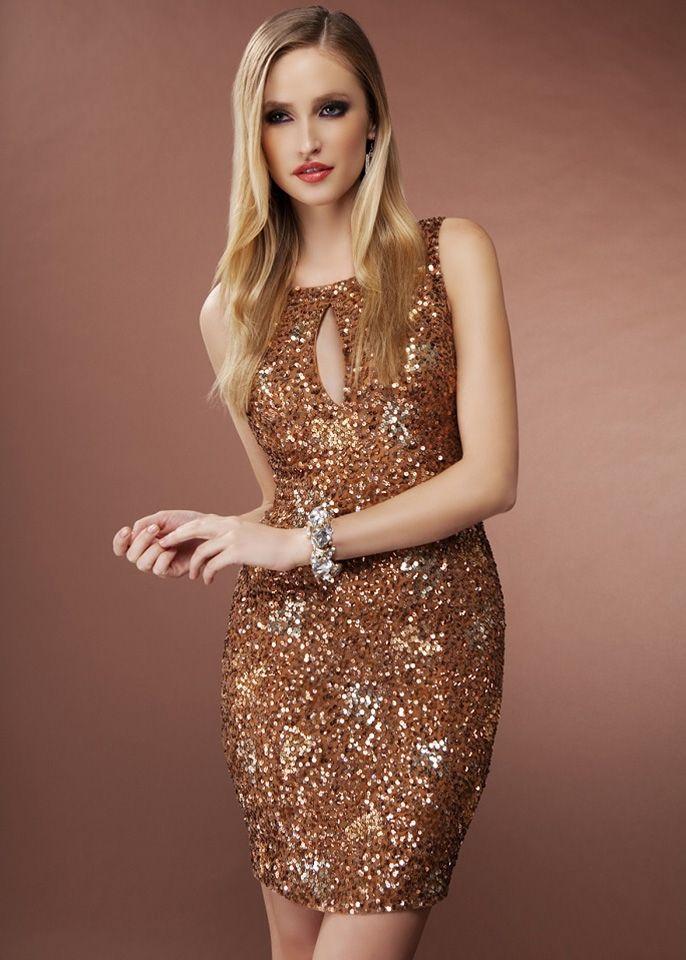 Cinnamon Short Cocktail Dresses 26