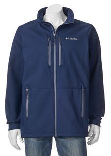 Big & Tall Columbia Get A Grip Thermal Coil Softshell Jacket