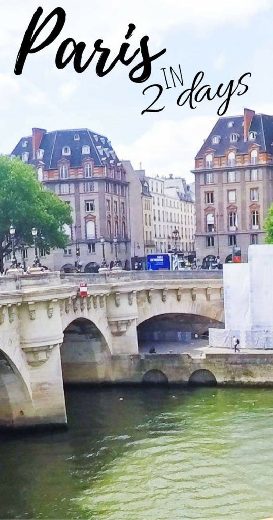 Make the most of Paris in two days; the best tourist spots and experiences.