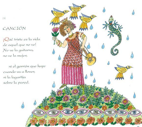 Ilustración de Carmen Sáez Díaz para la obra Nicolás
