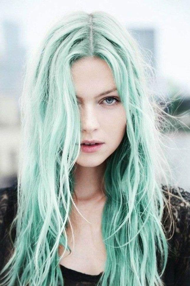 Would you ever rock aqua teal hair?