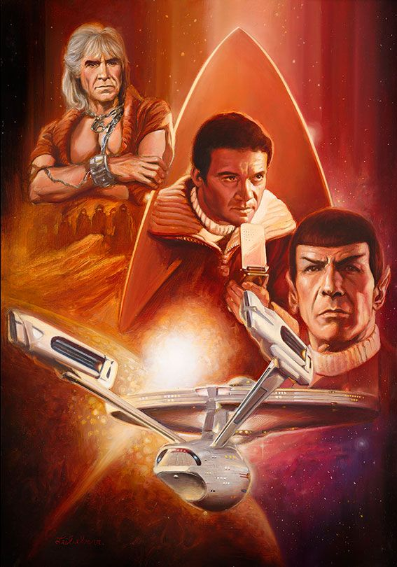 star-trek-wrath-of-khan by Leo Leibelman
