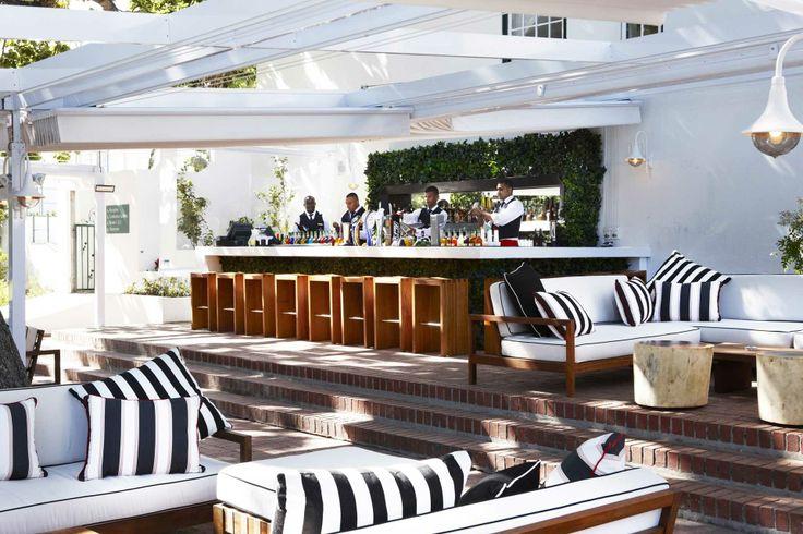 Rose Bar, Alphen Hotel. Constantia