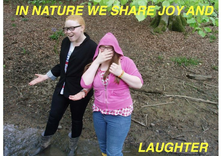 #43 Philpots Manor School entry number 2: 'In nature we share joy and laughter'. Beautiful, thank you!
