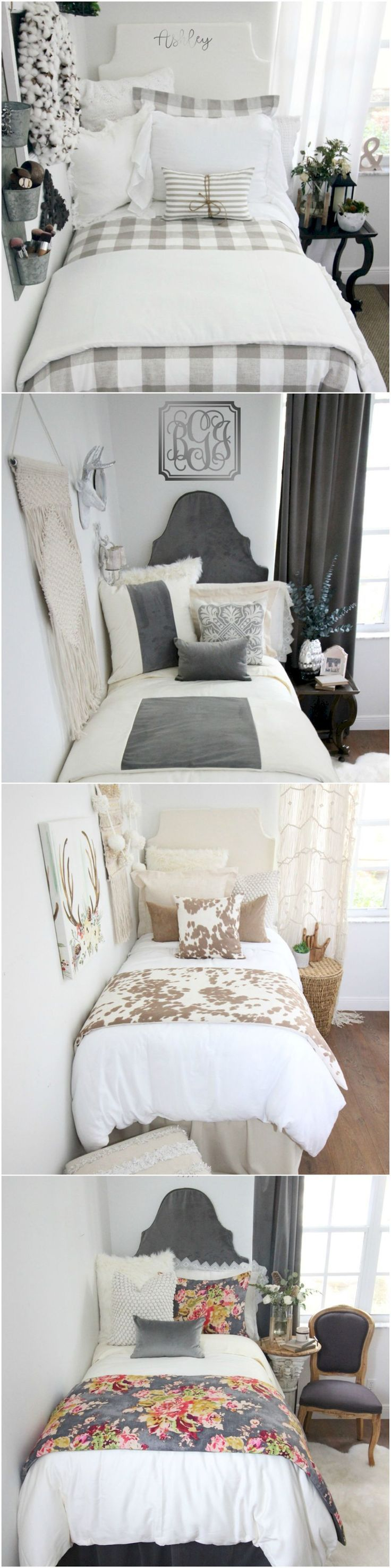 Gorgeous 55 Cute Dorm Room Decorating Ideas on A Budget https://homeastern.com/2017/10/13/55-cute-dorm-room-decorating-ideas-budget/