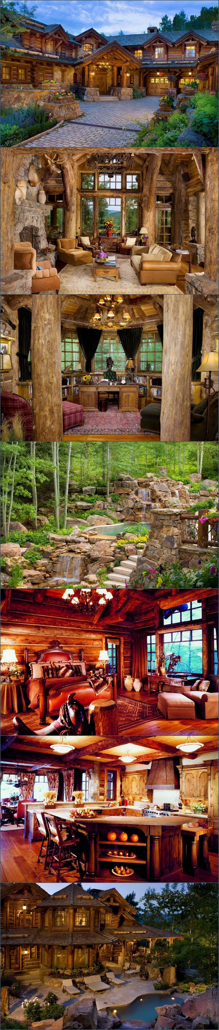 Strawberry Park Lodge - Beaver Creek, Colorado - Style Estate - especially love that pool!!!