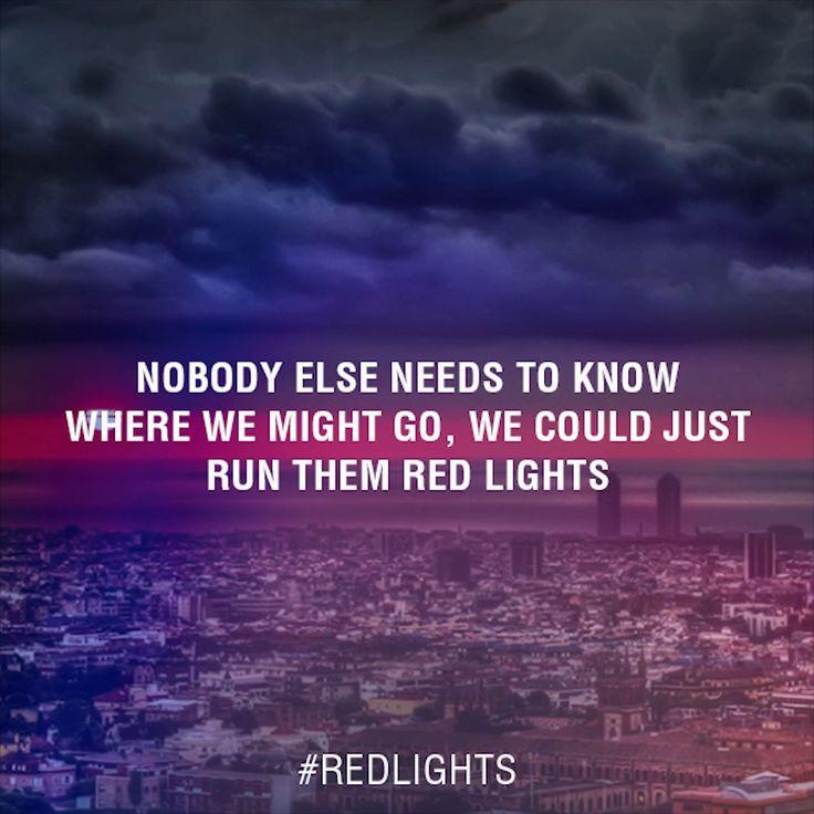 Tiësto – Red Lights Lyrics