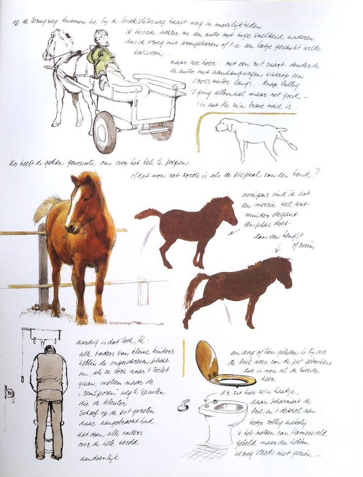 Rien Poortvliet's lovely horses.