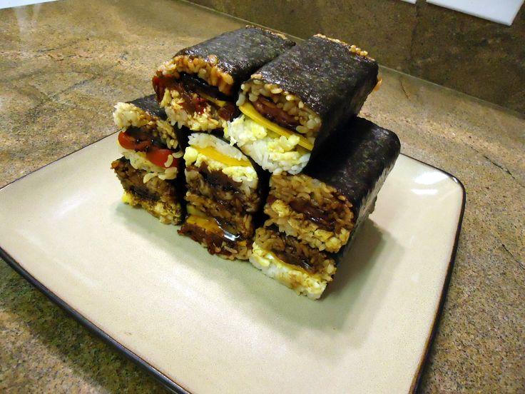Spam: Spam Musubi De Kine Hawaiian Food