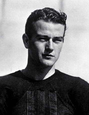 John Wayne  before fame. here as a USC football player
