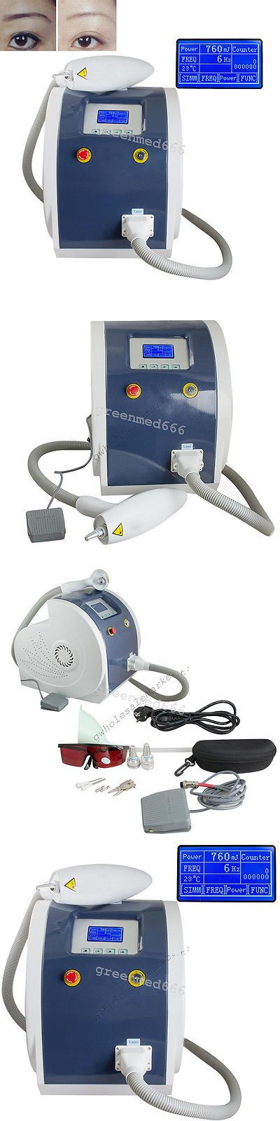 Tattoo Removal Machines: Portable Laser Tattoo Eyebrow Pigment Removal Beauty Spa Machine Pigment Remove BUY IT NOW ONLY: $1036.8