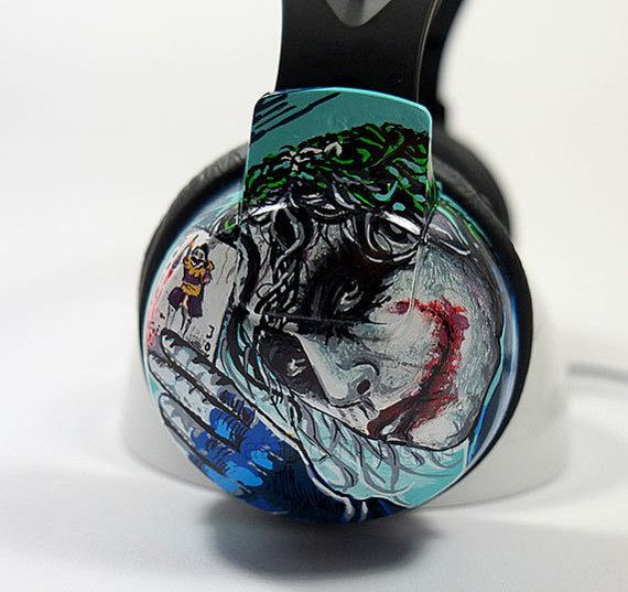 Customized Headphones  Unique Earphones Hand by atelierChloe