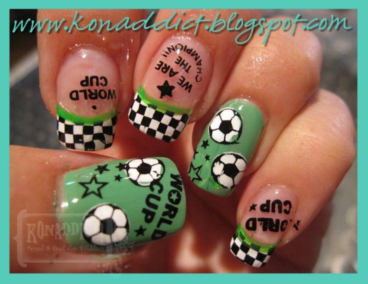 soccer nails - 88 Best Soccer Nails Images On Pinterest Football Nails, Soccer