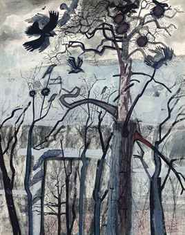 EDWARD BAWDEN, R.A. (1903-1989)The Rookery.