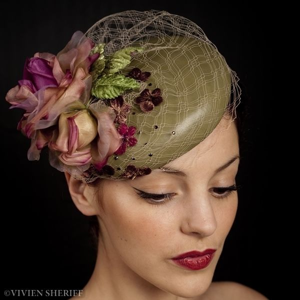 Vivien Sheriff Millinery - Hats and Headpieces, Bridal Hats and Headpieces, Hats for the Races, Hat Hire