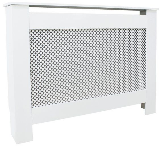Buy HOME Odell Medium Radiator Cover - White at Argos.co.uk - Your Online Shop for Radiator covers, Home furnishings, Home and garden.