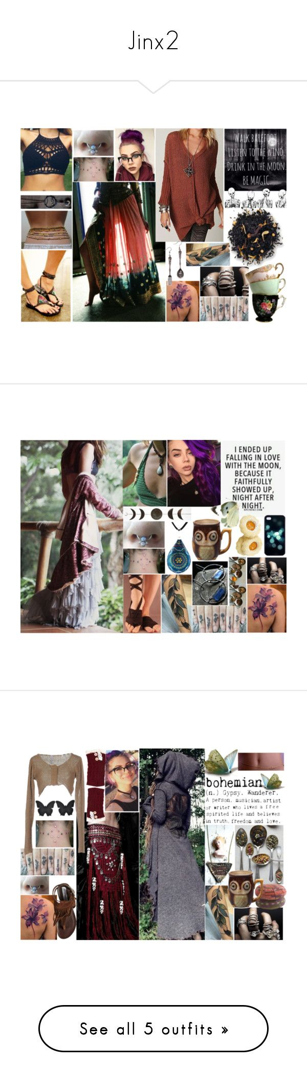 """""""Jinx2"""" by thwgi ❤ liked on Polyvore featuring By Charlotte, Alexander McQueen, The Tao of Tea, The Rogue + The Wolf, Pianurastudio, Steve Madden, Chloé, Miss Selfridge, Free People and Gimmicks"""