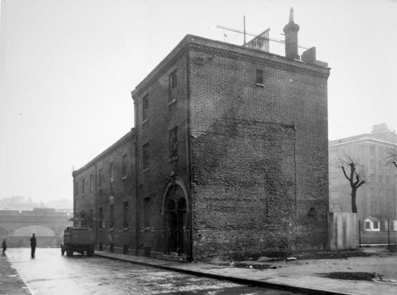 Remains of the Whitechapel Workhouse, Fulbourne Street, 1951