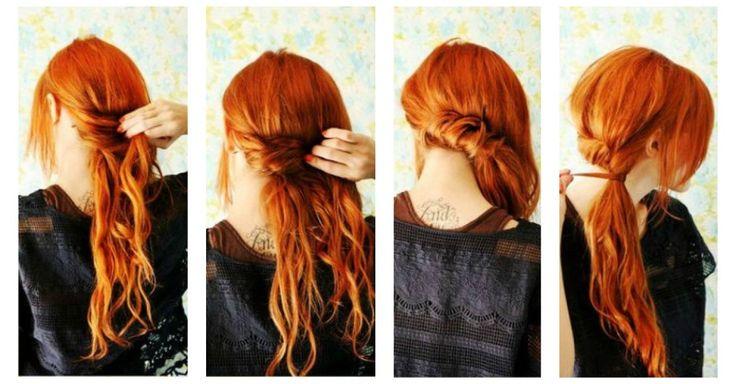πανεύκολα χτενίσματα για μακριά μαλλιά
