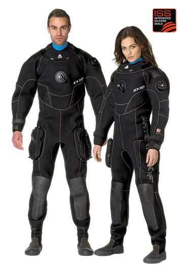 Products - Waterproof - Love how it doesn't seem as baggy as many drysuits. Love the blue seal, too!