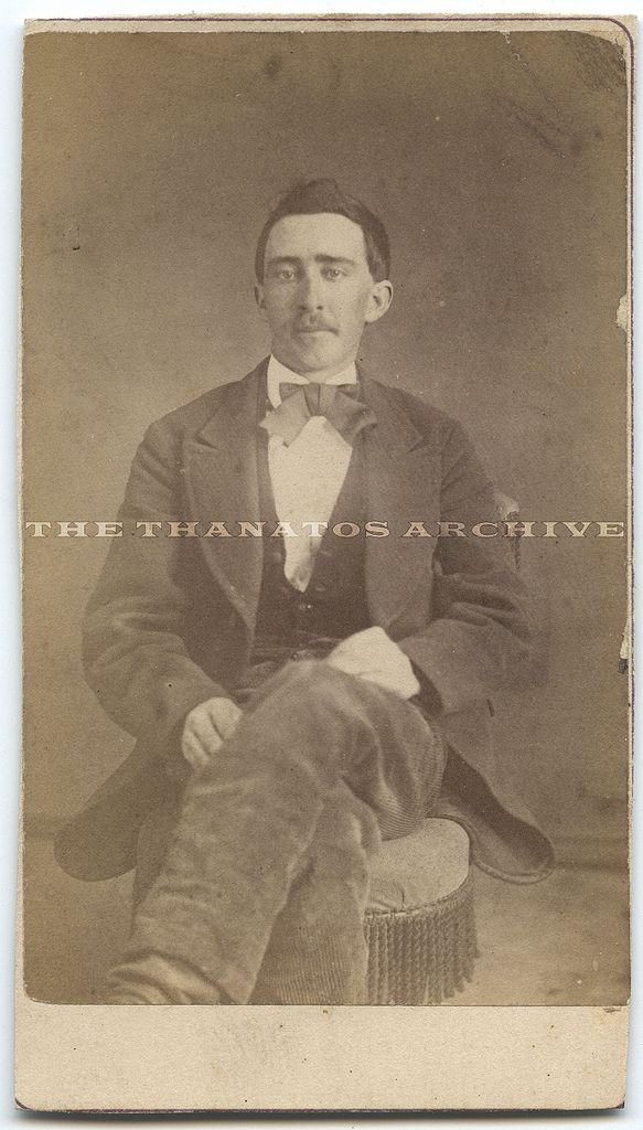 Nicolas Cage?  Nope...his doppleganger....Original c.1870 carte de visite showing a man who looks exactly like Nicolas Cage. on ebay