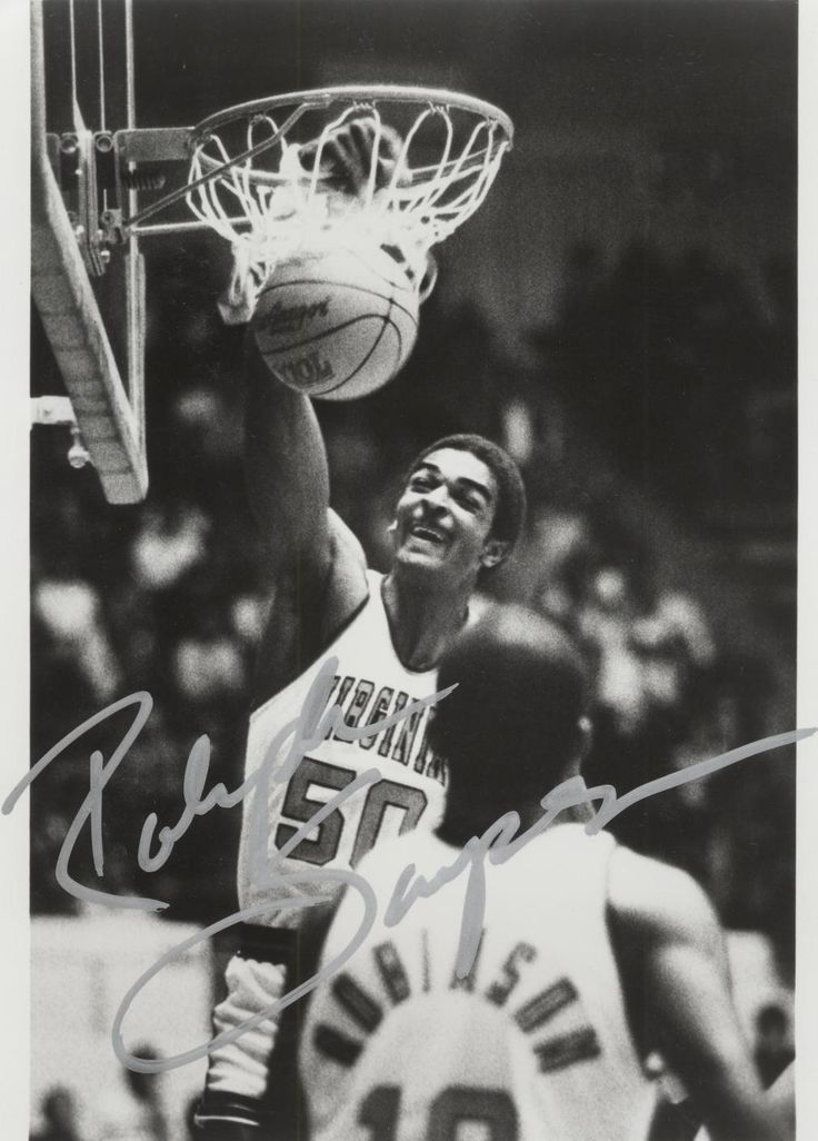 Photograph:  Basketball player Ralph Sampson from University of Virginia Visual History Collection ;  Albert and Shirley Small Special Collections Library, University of Virginia.